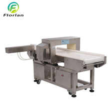 Seafood Industrial Metal Detector With Touch Screen Conveyor Belt