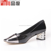 2016 spring lady shoes wholesale china factory manufacturer high heels genuine leather lady platform shoes
