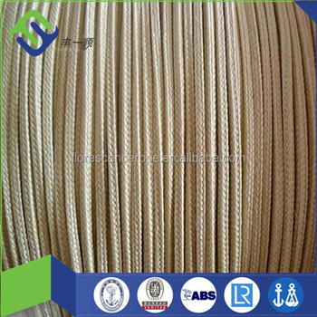 kevlar aramid rope 2mm 3mm for fishing rope