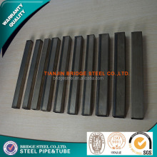 Multifunctional square structural steel pipes section properties with high quality