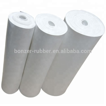 High pressure resistant insulated silicone rubber sheet manufacturer