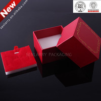 Promotional plain cardboard jewelry gift box certificated by ISO,SGS,BV ex factory price!!!