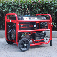 Bison China OEM 5kw gasoline generator price n/z electric power max generator BS188F parts