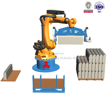 Automatic Hydraulic Small Industrial Brick Telescopic Robot Manipulator Robotic Arm Palletizer Price