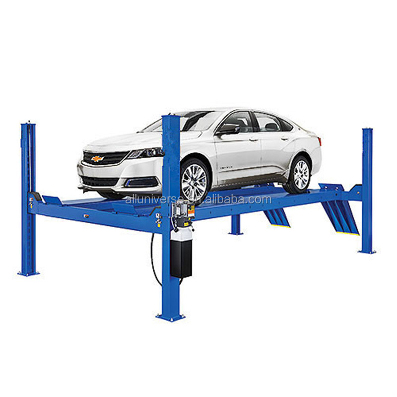 Direct Factory Price auto electric parking system used 4 post car lift for sale