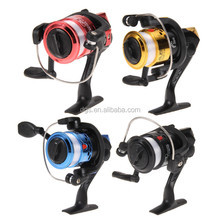 wholesale aluminum body multi-Color spinning reel high speed fishing reels with line fishing