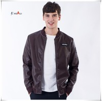 2016 New Arrivals Winter Autumn Brand Men PU Leather Jackets Motorcycle Leather Jackets Overcoat