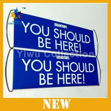 free sample welcome banner,flying feather banner,large format banner