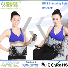 Abdominal Belt With Two Functions As Vibration Slimming And EMS Massage/belly slimming belts without side effects hot slim belt