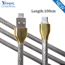 Veaqee micro usb cable wire lighting to usb cable for samsung