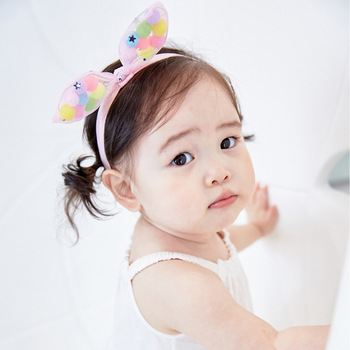 MS70018W 2016 baby girls colorful hair band