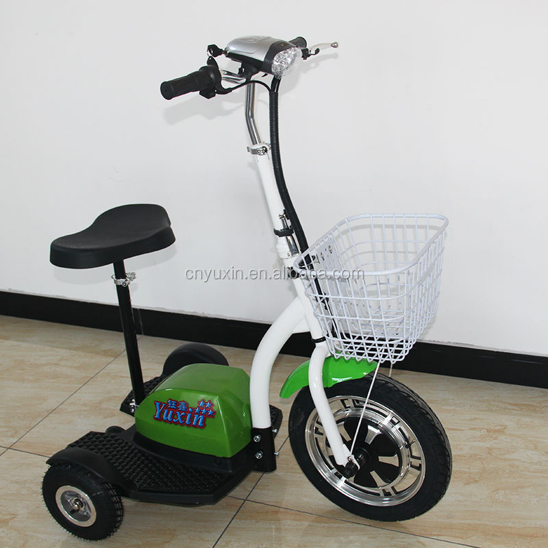 2016 popular 36V 350W zappy electric 3 wheel scooter / trike with CE for adult