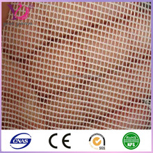 50D Polyester warp knit square mesh fabric for composite pvc materail