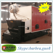 mixed wood chips, wood logs, wood strips fuels fired industrial hot water boilers