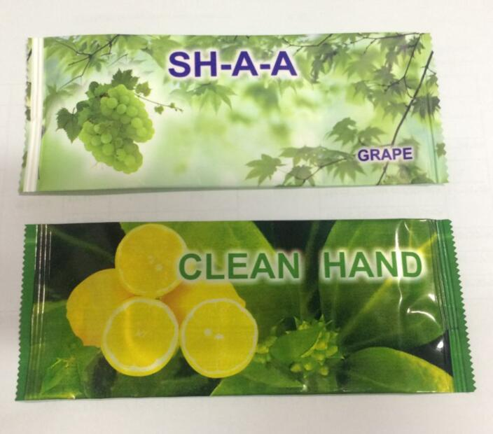 1pc/printed bag Hand Cleanse Disposable wet wipe