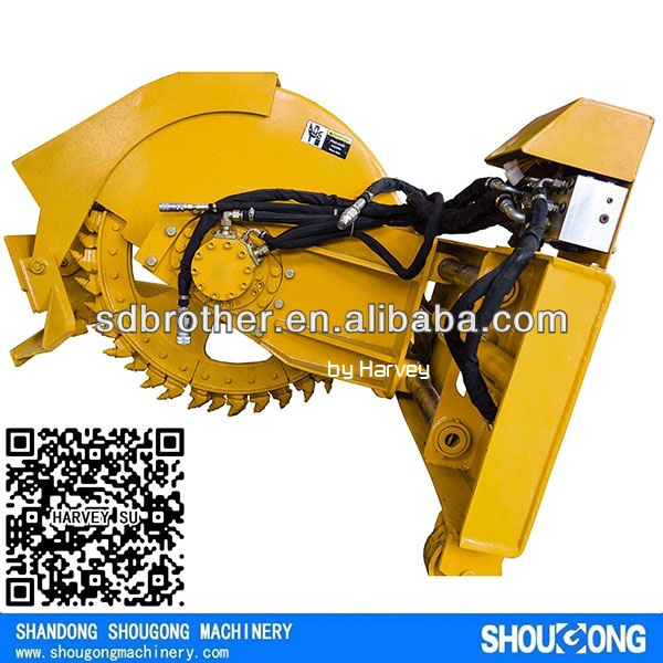 Rock Saw attachment for Skid Steer Loader