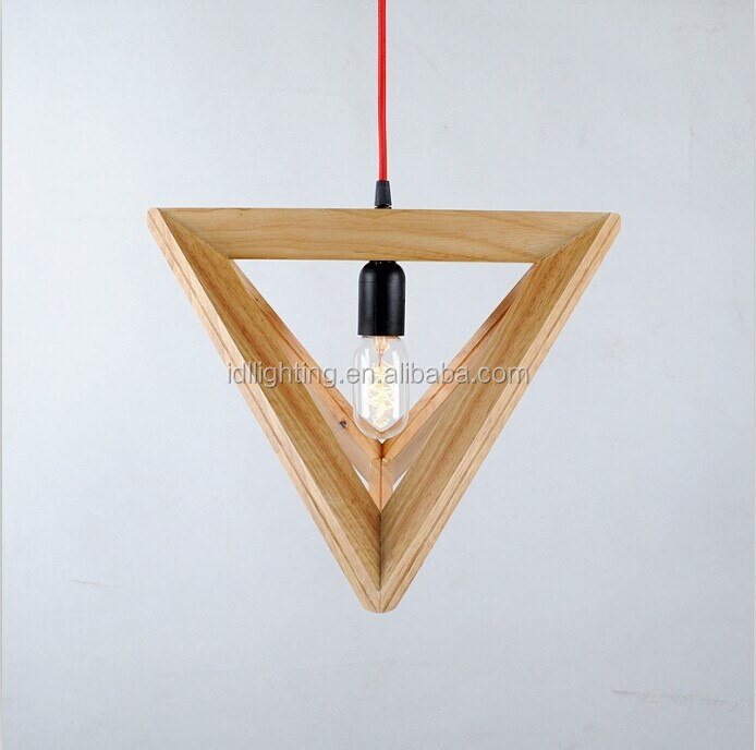 Stylish Modern wooden lamp, wooden hanging lamp, wooden pendant light