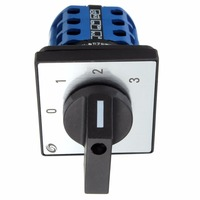 4 Positions Rotary Cam Switch LW28-20 Changeover Switch with Screws 660V 20A Useful Tool, Rotary Switch