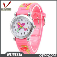 Stock Casual Reloj Waterproof quartz cute color Kid watch Girls Boys