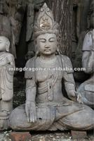 Chinese antique wooden buddha