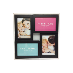 Wholesale plastic injection small plastic craft wall collage picture photo frame