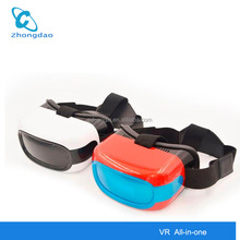 2017 vr All-in-one cheap virtual reality 3d <strong>video</strong> glasses support Wifi 2.4G Bluetooth 4.0 Battery Endurance 3.5 hours