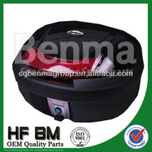 universal motorcycle pannier,motorcycle tail box with LED light,super quality and best price