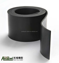 Good excellent resistance to ozone high Temperature 200 degree C VIton rubber sheet with both sides smooth surface