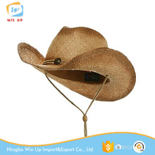 WINUP New Men's Women's Straw Cowboy Hat Bulk Top Hats