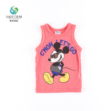 New design baby boy vest fashion casual children clothes
