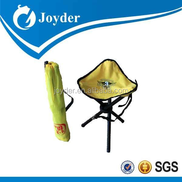 small triangle folding fishing stool with carry bag