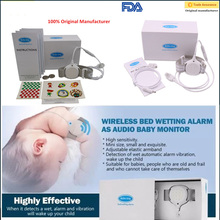 Cheap Baby Monitor Bed Wet Alarm with Night Vision, sounds,vibration to wake up children