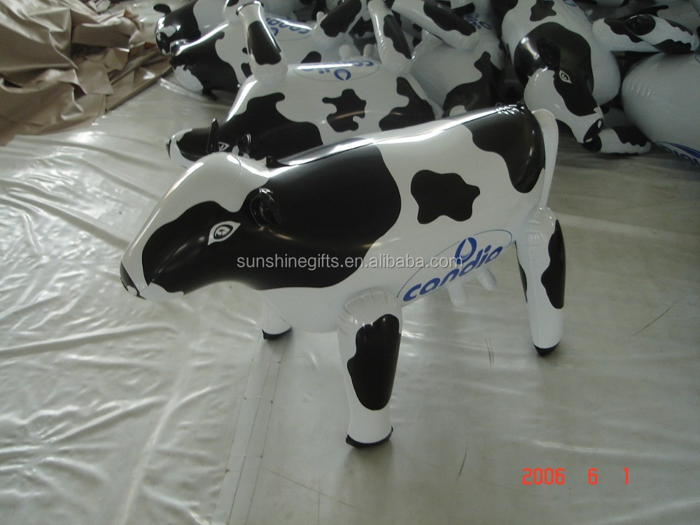 Cheap Vivid lovely Custom Advertising inflatable Milka Cow Festival Inflatables