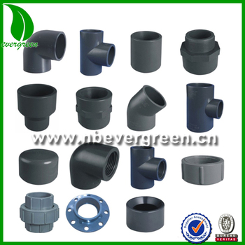 Names of pvc pipe fittings buy names of pvc pipe for Plastic plumbing pipe types