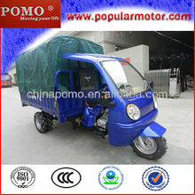 2013 Chinese Hot Top Popular Gasoline Cheap 250CC Water Cool Cargo Mini 3 Wheel Motorcycle