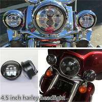 "4.5"" Motorcycle LED Daymaker Auxiliary Passing Light Bulb for Harley Davidson"