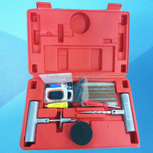 Tubeless tire repair tool kits