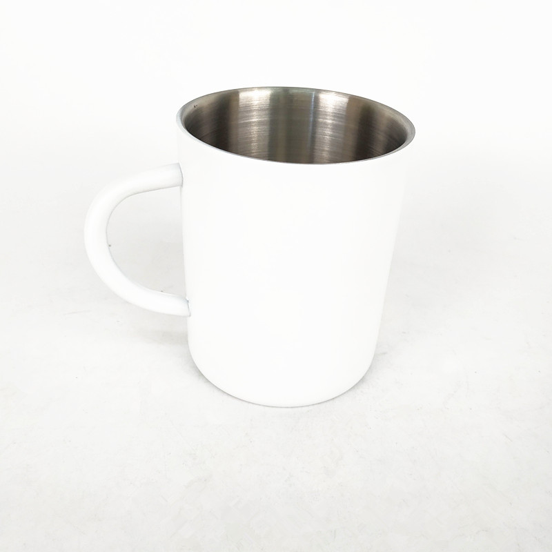 Promotional Gift 15OZ /420ML Hot Cold drinking Mug Double wall color coating Stainless steel coffee Mug