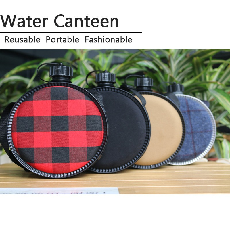 2L Plastic Outdoor Water Bottle Canteen