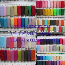 fashion chiffon fabric color chart wholesale and manufacturer