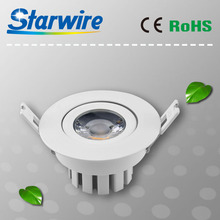Mini LED Halogen Downlight 80mm Cutout Aluminum Warm/Cold White Ceiling Down Light 9W
