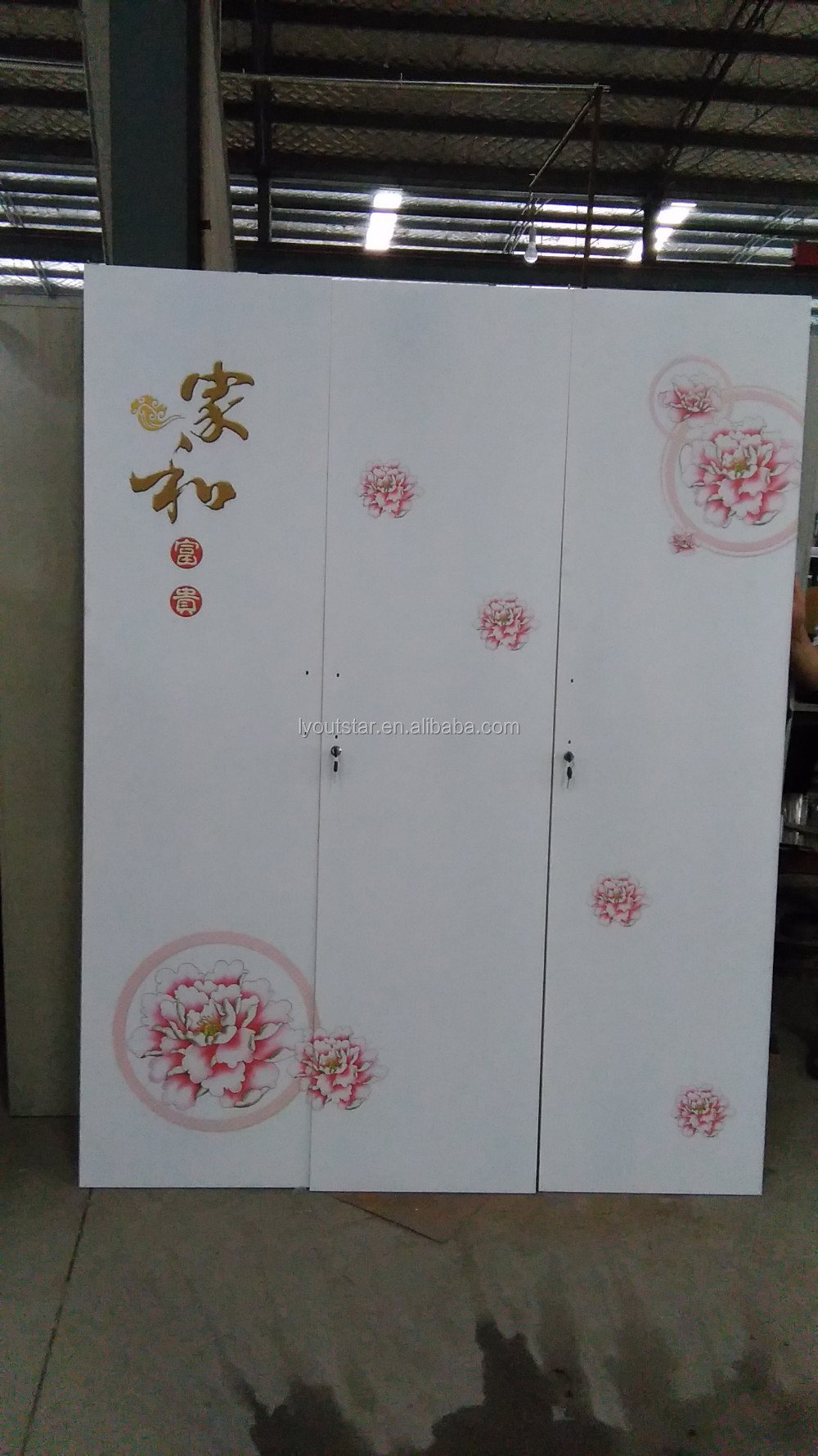 2 door clothing steel locker/wardrobe