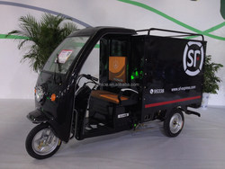 2015 New Electric Cargo Rickshaw with cabin