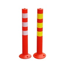 Elasticity Traffic reflective road delineator