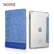 XOOMZ Splicing Shining PU Leather Folio Case for iPad Air 2