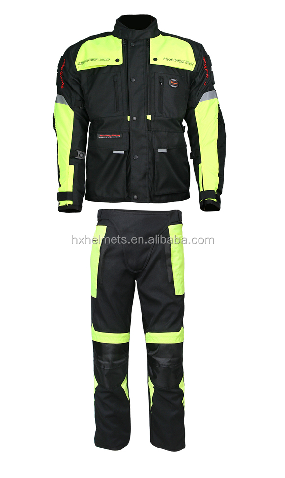 Motorcycle Jacket With Pants Sets Cheaper Price Motocross Wear Protector Wear