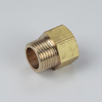 Brass male brake nipple adapter air brake fittings