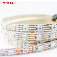 double sided pcb 5v ws2812b white and rgbw flexible led strip light smd5050 digital rgb ce rohs ul listed