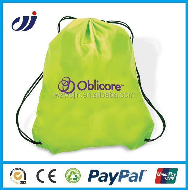 nylon folding bag with drawstring nylon folding chair bag reusable produce bags