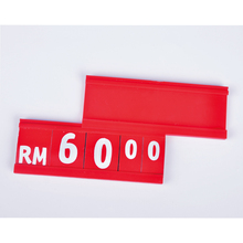 Separable small price board for supermarket